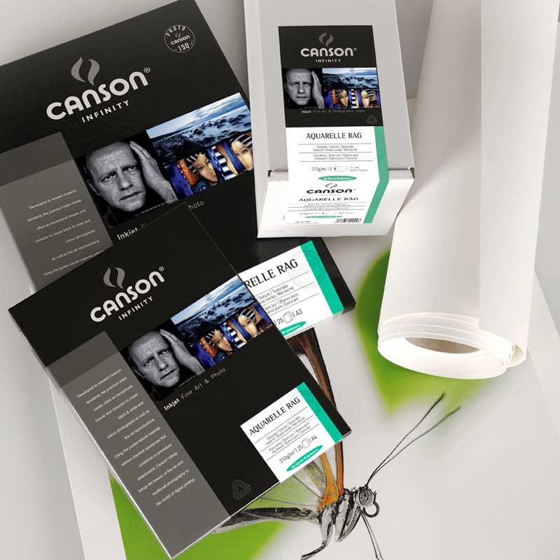 Família CANSON® INFINITY ARCHES® AQUARELLE RAG 310